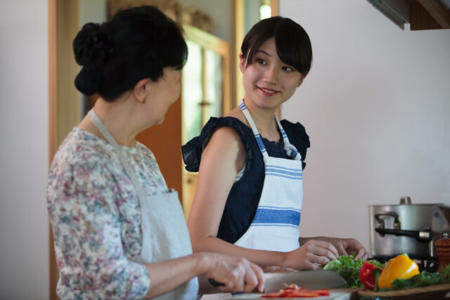 追悼サイト お母さんの料理